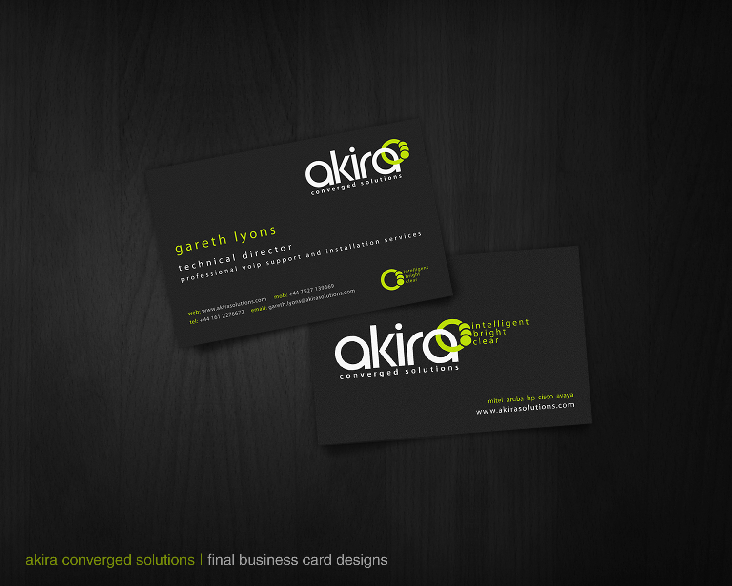 Beautiful Business Awesome Business Cards
